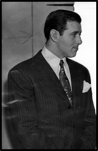 "Benjamin ""Bugsy"" Siegel in a pensive moment"