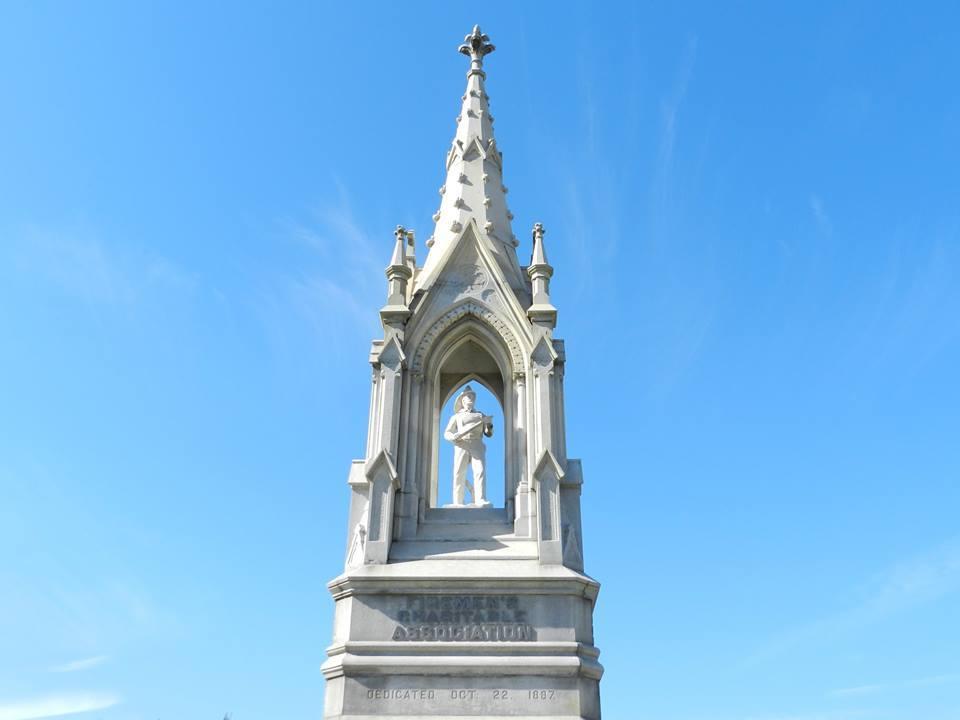 Fireman's Memorial Statue