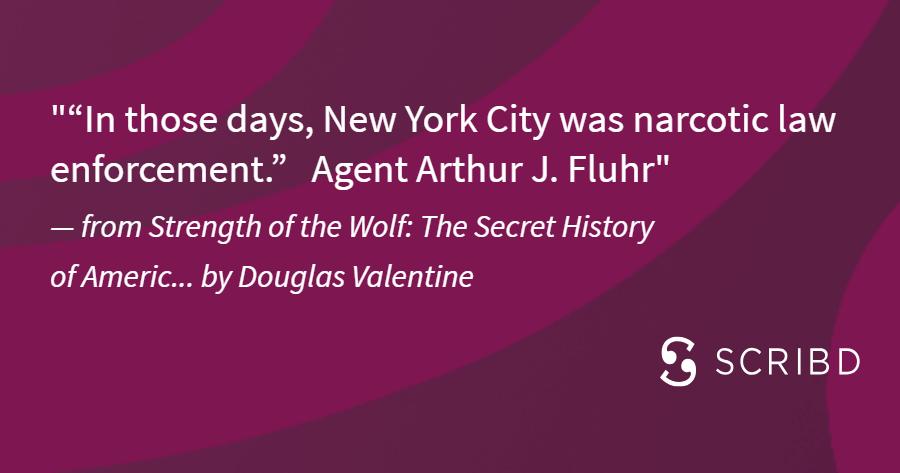 Douglas Valentine Quote