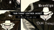 The Ultimate Gangster Apparel Our Thing Leather Varsity Style Jacket