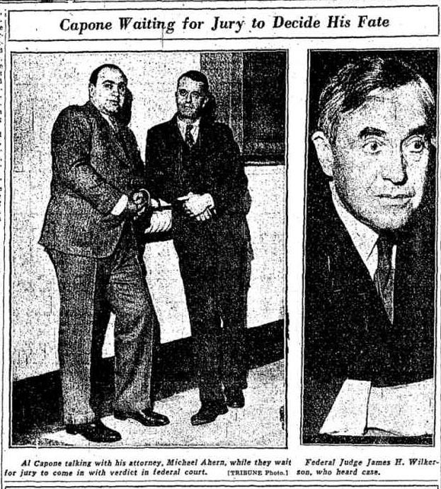 Capone waiting verdict