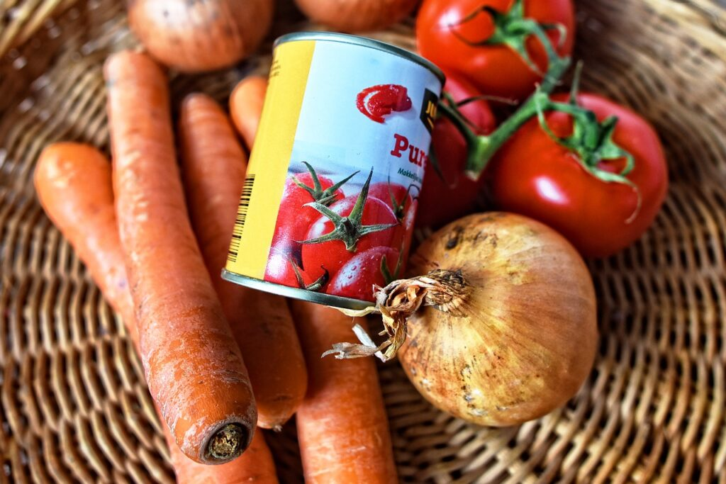 Drugs were smuggled in using tins of tomato's