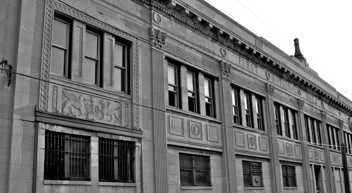 Robbing The First National Bank