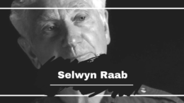 Selwyn Raab Turns 85 Years Old Today