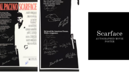 Al Pacino Signed Scarface Frame Goes on Sale