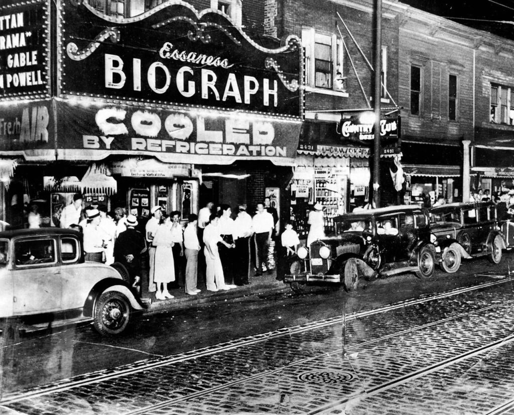 The Biograph in 1934