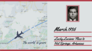 March 1936: Lucky Luciano Flees New York