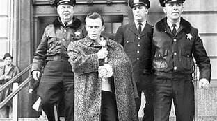 Morrison leaving the court