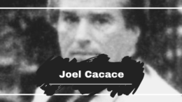 On This Day in 1941 Joel Cacace was Born