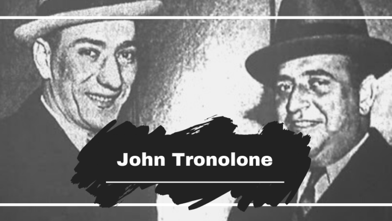 On This Day in 1991 John Tronolone Died, Aged 80