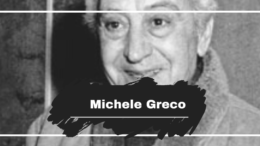 On This Day in 1924 Michele Greco was Born