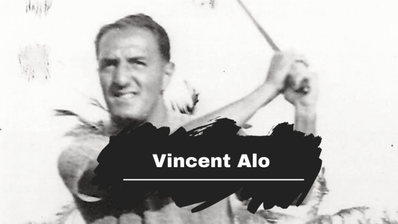 On This Day in 1904 Vincent Alo was Born