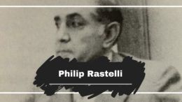 On This Day in 1991 Philip Rastelli Died, Aged 73