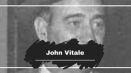 On This Dat in 1982 John Vitale Died, Aged 73