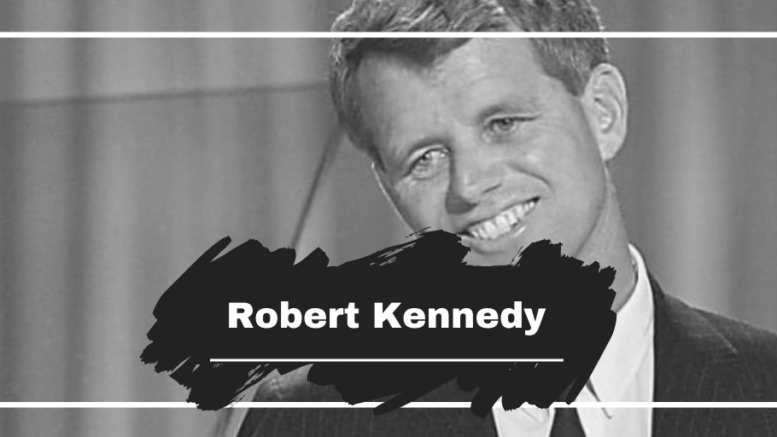 On This Day in 1968 Robert Kennedy Died, Aged 42