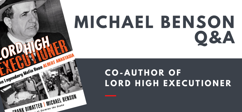 Michael Benson Q&A, co-author of Lord High Executioner