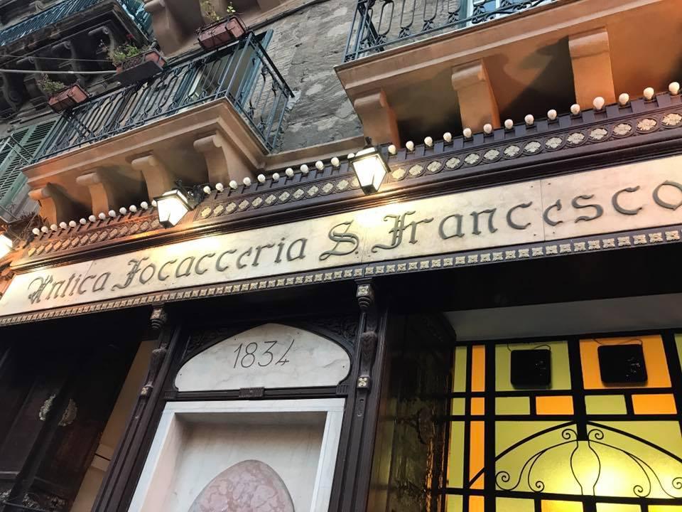 Antica Foccaceria street food restaurant