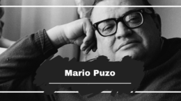On This Day on 1999, Mario Puzo Died, Aged 78