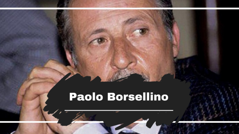 On This Day in 1992 Paolo Borsellino Died, Aged 52