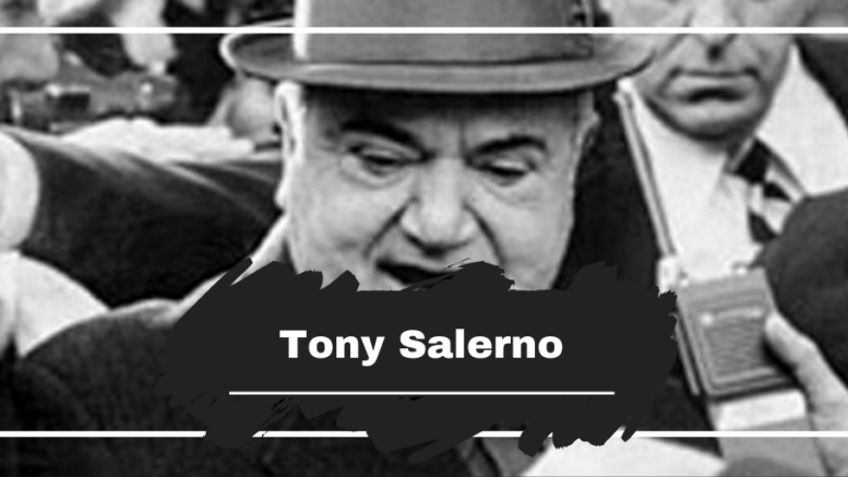 On This Day in 1992 Tony Salerno Died, Aged 80