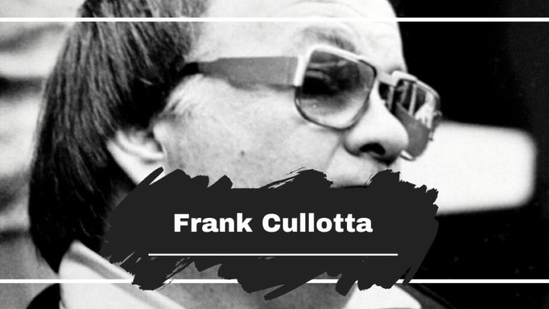Frank Cullotta Dead at 81