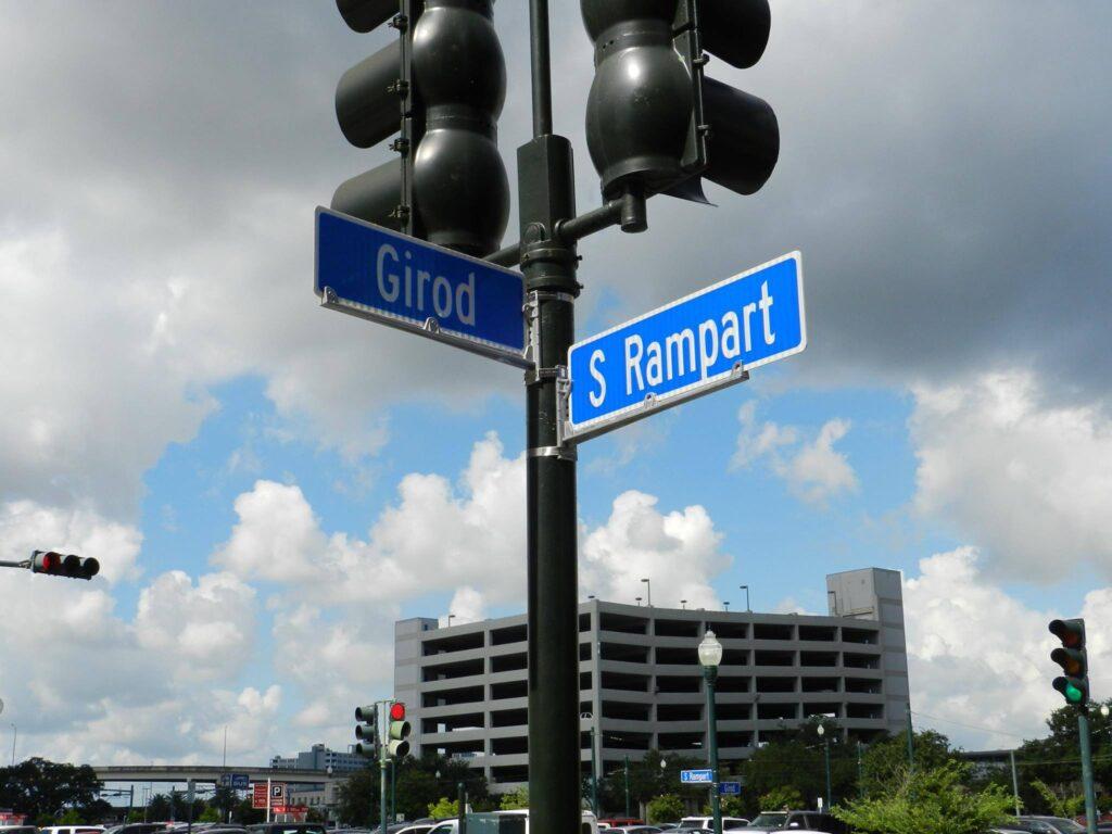 Girod Street where the shooting happened