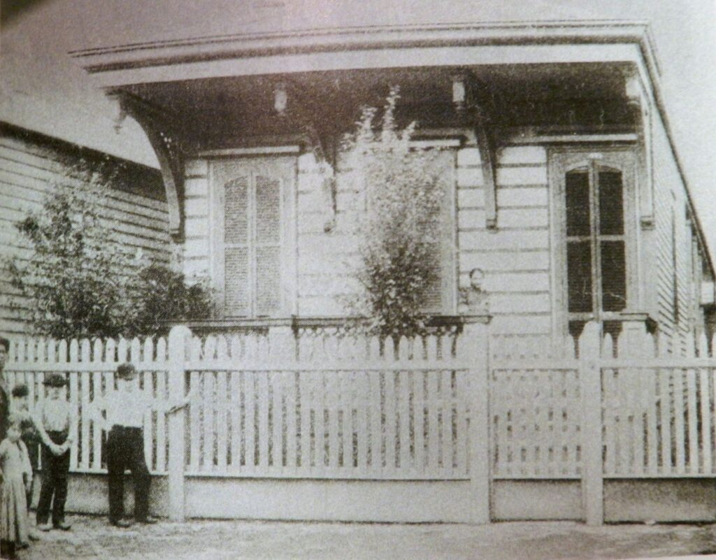 The Hennessey home at 275 Girod Street.