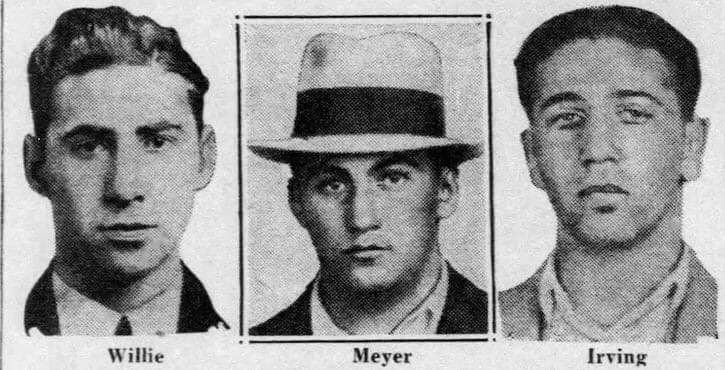 L-R The Shapiro brothers...William, Meyer and Irving