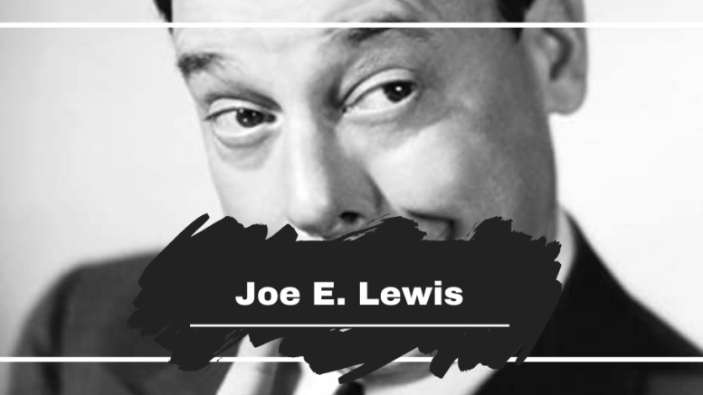 On This Day in 1927 Joe E. Lewis was Slashed