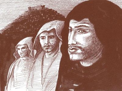 Osso, Mastrosso and Carcagnosso