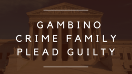 Members and Associates of Gambino Crime Family Plead Guilty