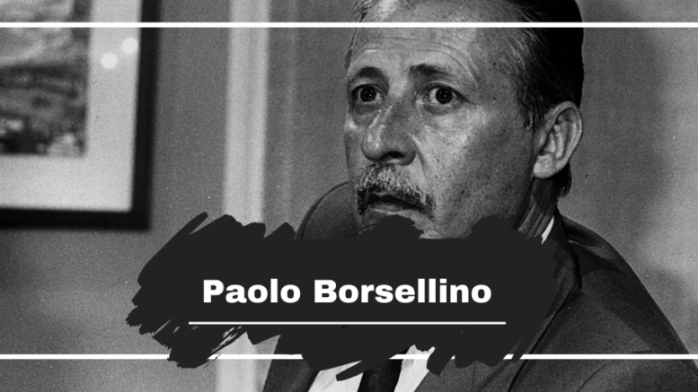 Paolo Borsellino: Born On This Day in 1940