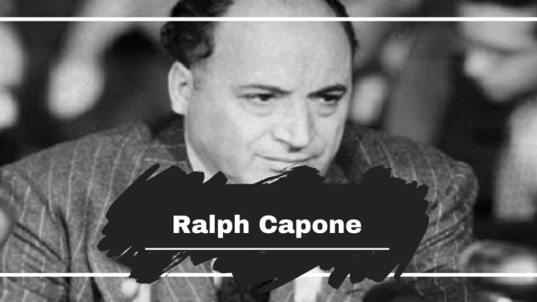 Ralph Capone: Born On This Day in 1894