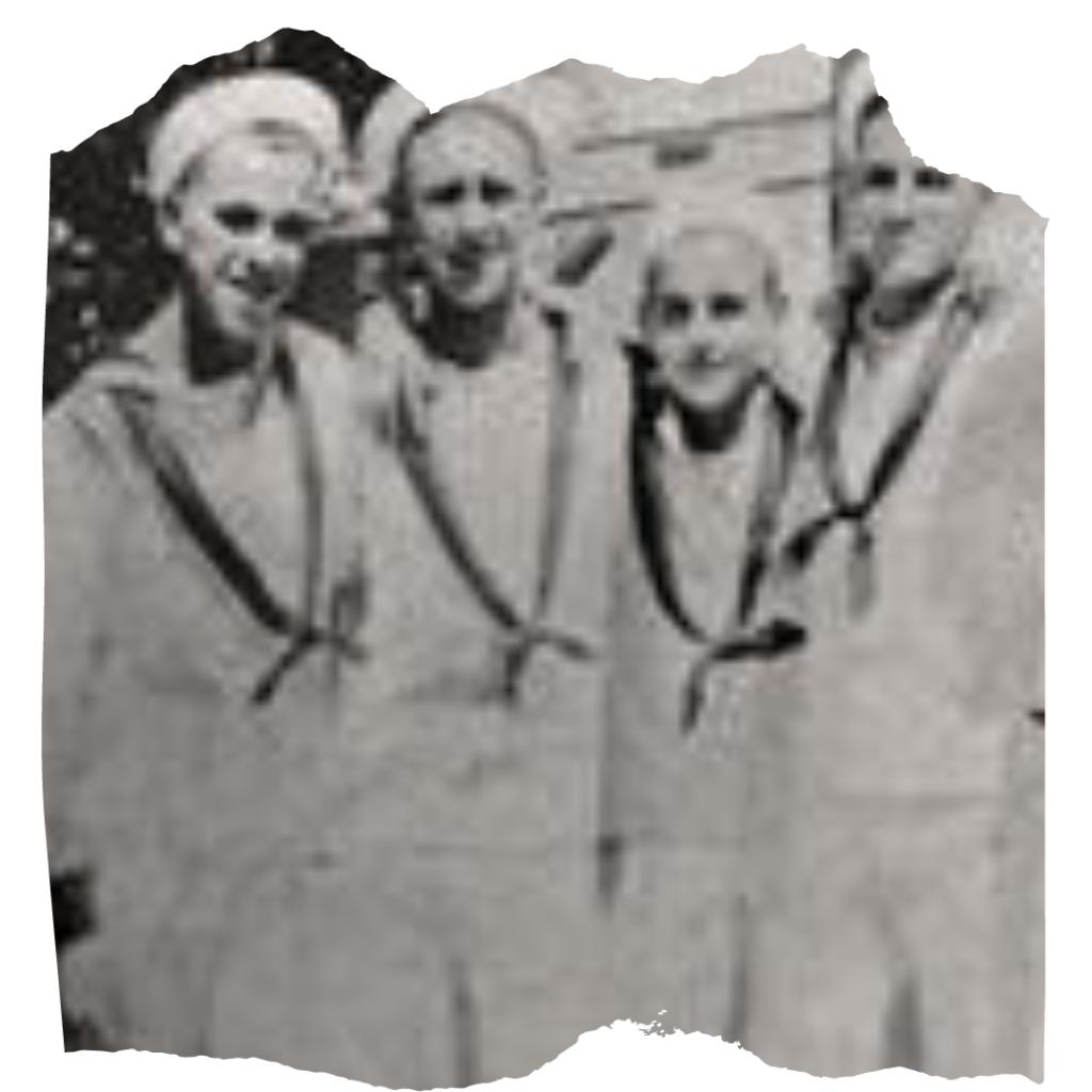 John Dillinger (Far Left)