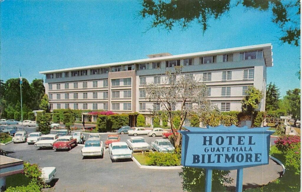 Hotel Biltmore in Guatemala City where Carlos stayed.